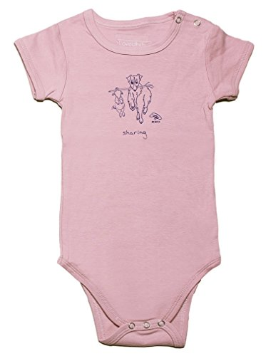 Lovedbaby/Phebe-n-Me Unisex-Baby Graphic Short-Sleeve Bodysuit