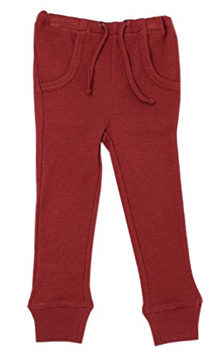 L'ovedbaby Unisex Organic Kids' Drawstring Jogger Pants – Thermal Collection