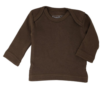 L'ovedbaby Organic Long-Sleeve Shirt - Bark