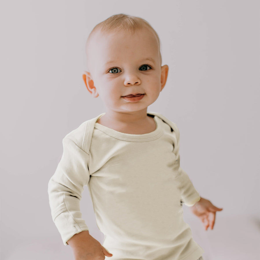 L'ovedbaby Organic Long-Sleeve Shirt - Beige