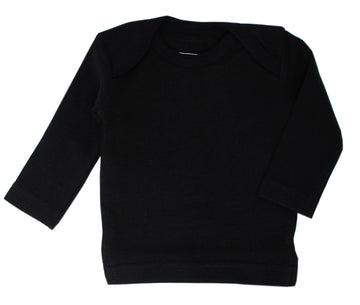 L'ovedbaby Organic Long-Sleeve Shirt - Black