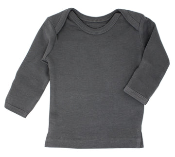 L'ovedbaby Organic Long-Sleeve Shirt - Gray