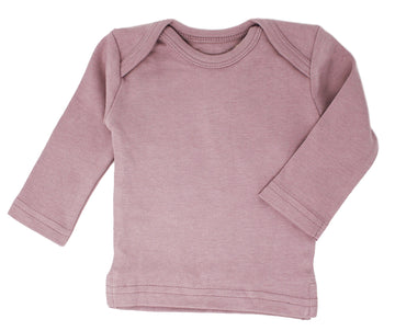 L'ovedbaby Organic Long-Sleeve Shirt - Lavender