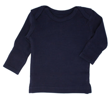 L'ovedbaby Organic Long-Sleeve Shirt - Navy
