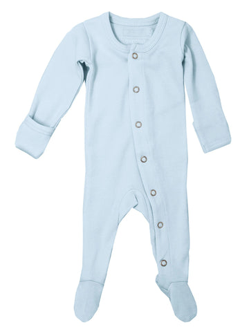 L'ovedbaby Organic Cotton Footie - Moonbeam