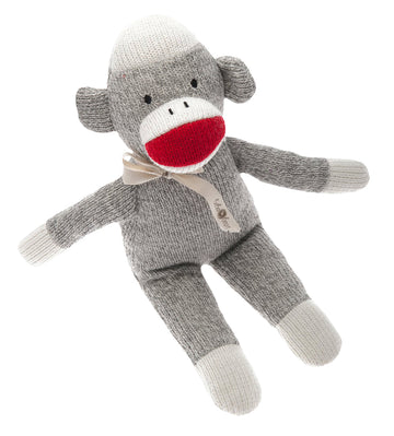 Sock Monkey Rattle by Beba Bean