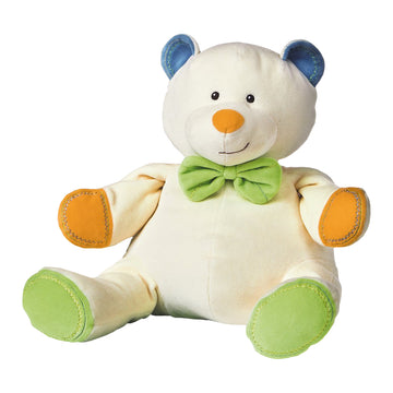 Mary Meyer Earthmates 100% Organic Multi-Colored Teddy Bear