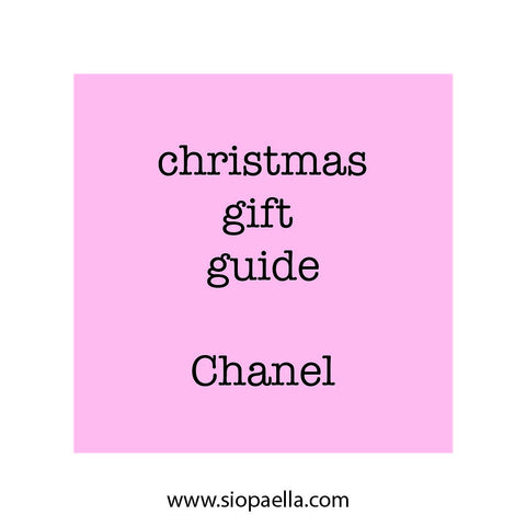 Christmas Gift Guide - Chanel