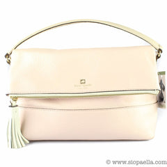 This pale pink Kate Spade is the perfect pastel bag for transitioning into  spring 35fa866a839ef