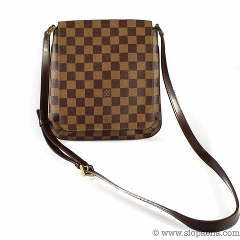 82e5640238 The Ebene Damier is the canvas that comes in dark brown and tan  checkerboard