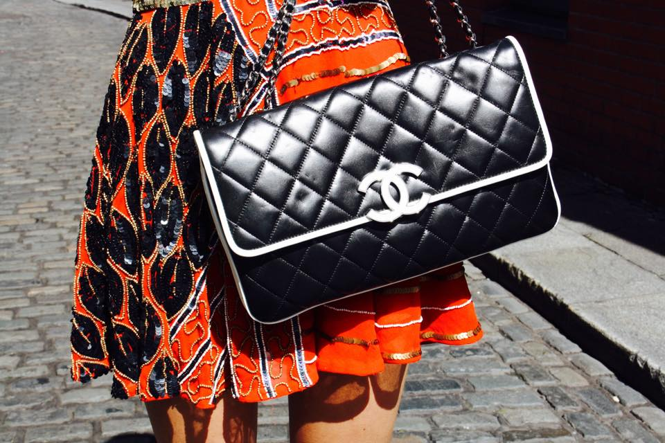 Chanel Quilted Lambskin Flap Bag Siopaella Grad Style