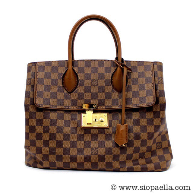Louis Vuitton Damier Ebene Ascot Tote - Siopaella how to afford a designer bag