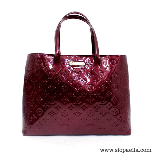 Louis Vuitton Vernis Leather Wilshire PM Tote