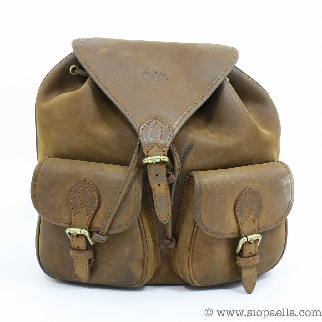 Vintage Leather Backpack Siopaella Designer Exchange Dublin