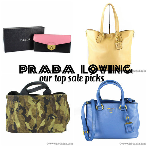 55f35d699e7ed3 The Devil certainly didn't wear Prada for nothing. The iconic Italian  fashion house, now under the helm of Miuccia Prada, is a huge hit among our  customers.