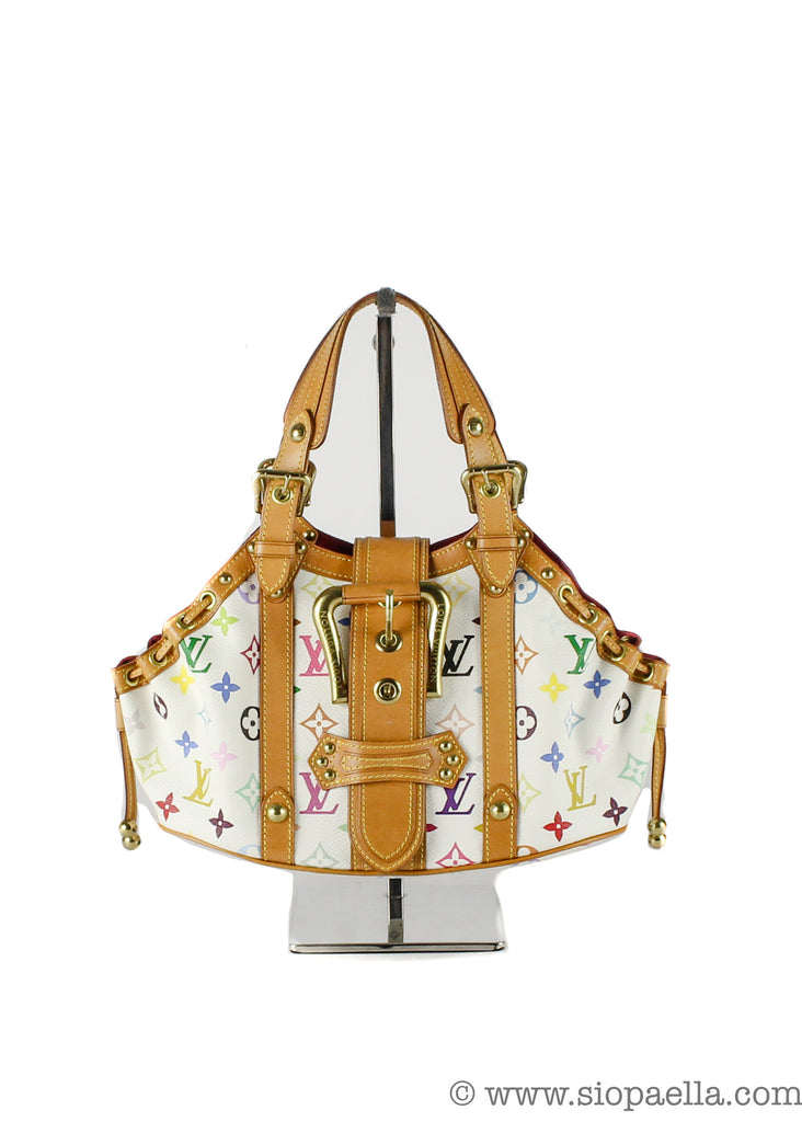 Louis vuitton mulitcolour monogram theda pm
