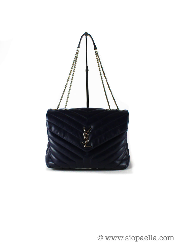 Saint Laurent Navy lou Lou