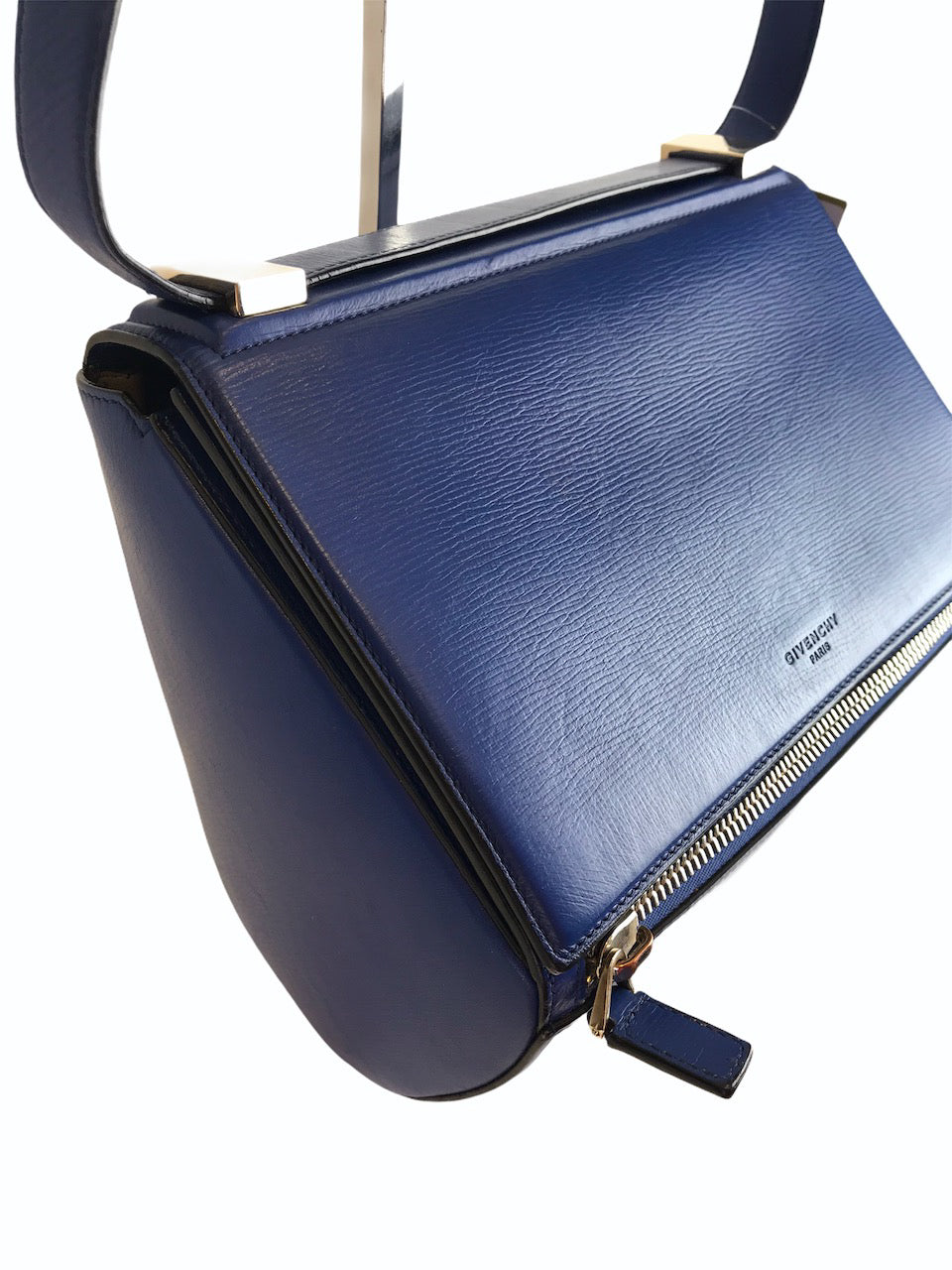 Givenchy Blue Leather Pandora Crossbody- As Seen On Instagram 09/09/2020