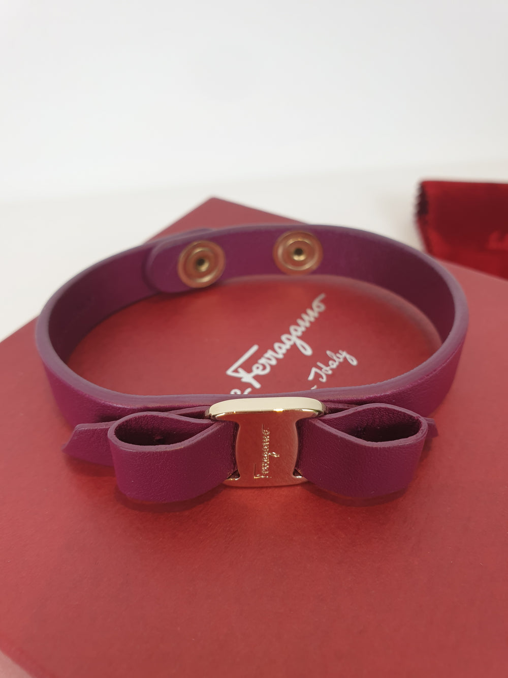 Salvatore Ferragamo Purple Bracelet - As seen on Instagram 5/08/20 - Siopaella Designer Exchange