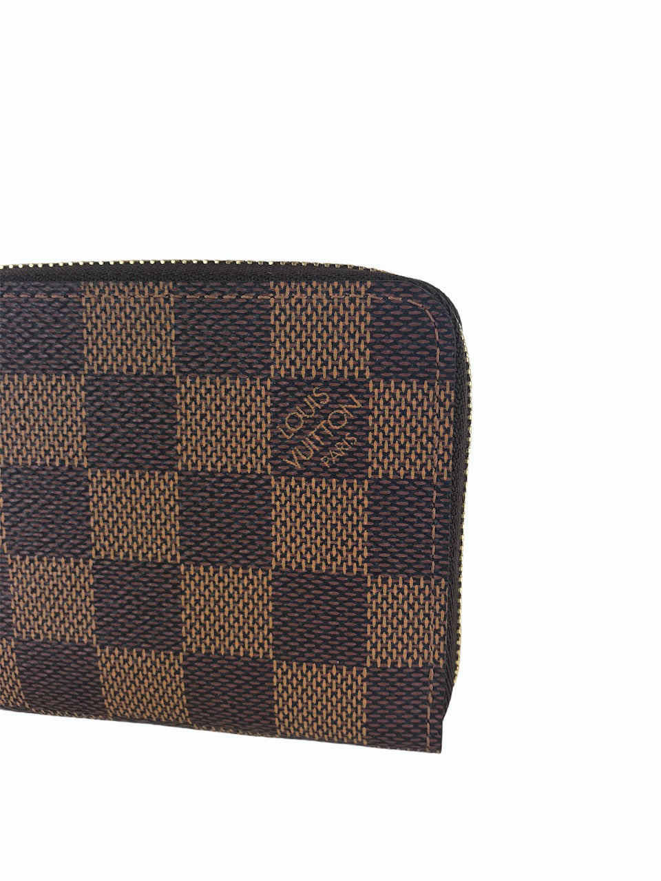 Louis Vuitton Damier Ebene Zippy Purse