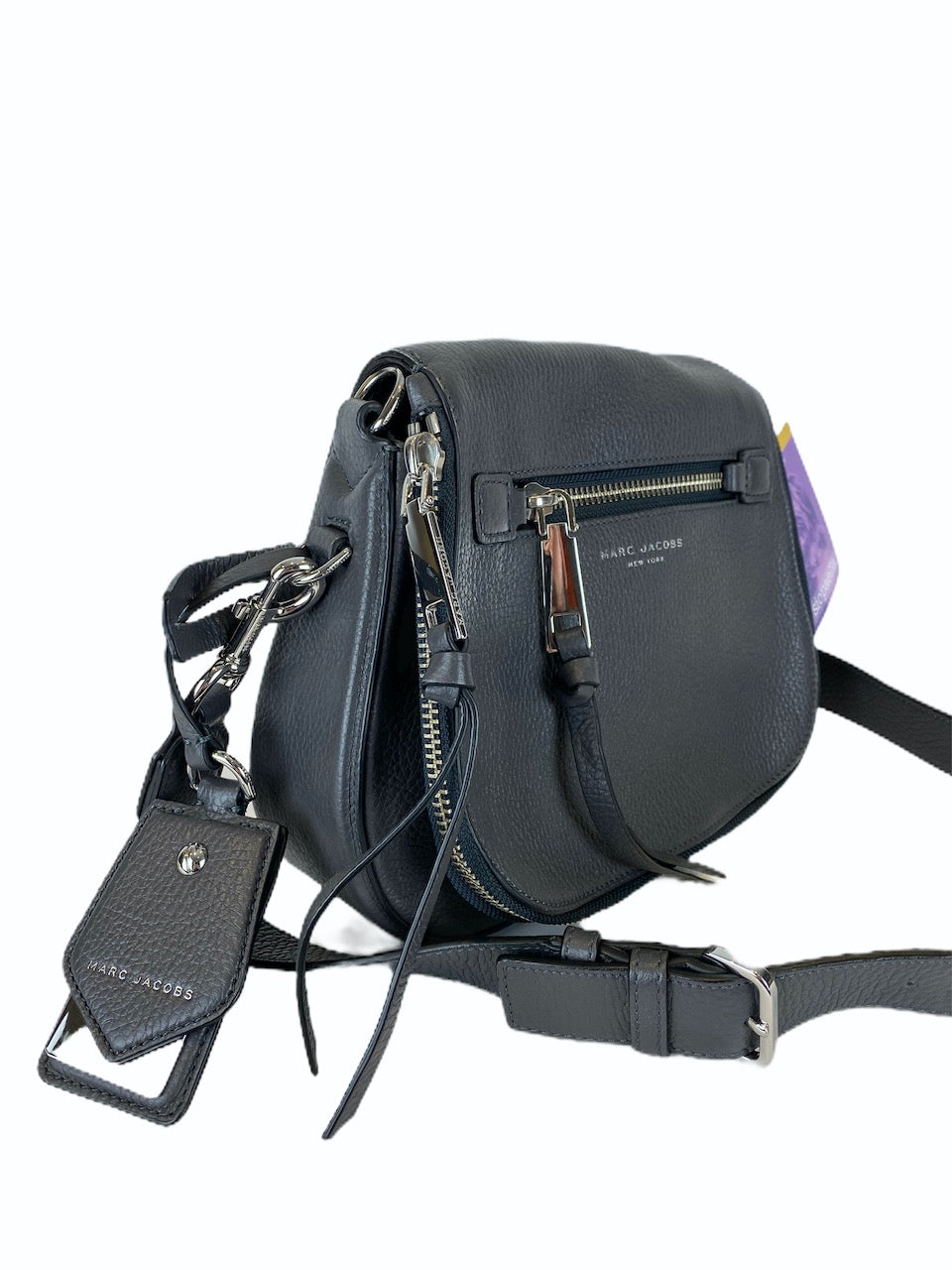 Marc Jacobs Grey Leather Recruit Crossbody - As Seen on Instagram 2/9/20