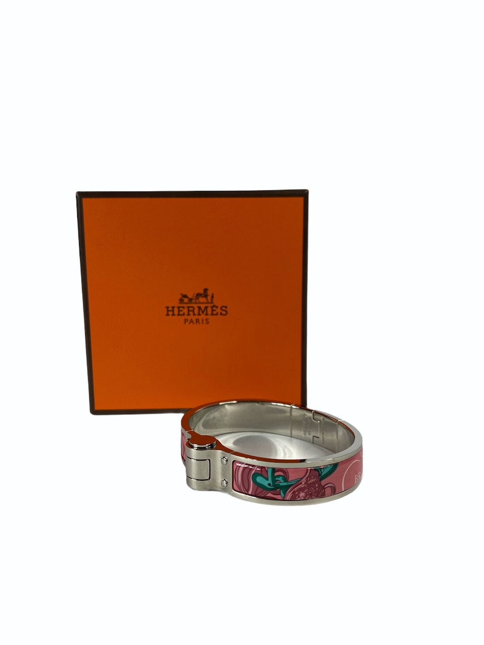 Hermes Brides de Gala Enamel Bangle - As Seen On Instagram 06/09/2020