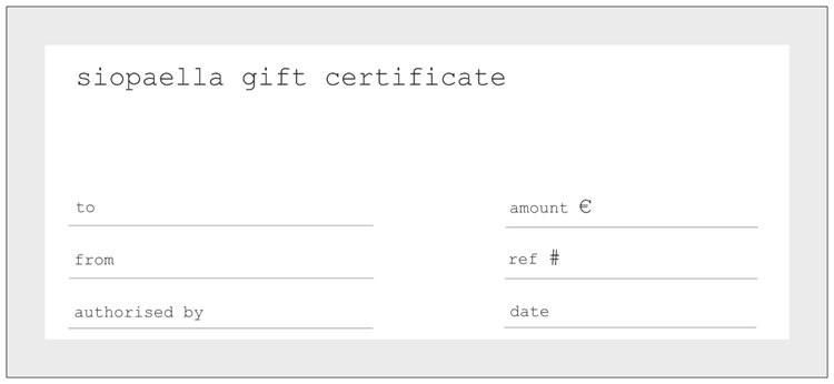 Gift Card - Siopaella Designer Exchange