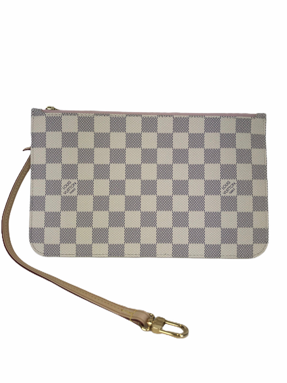 Louis Vuitton Damier Azur Pochette - - As seen on Instagram 2/08/20 - Siopaella Designer Exchange