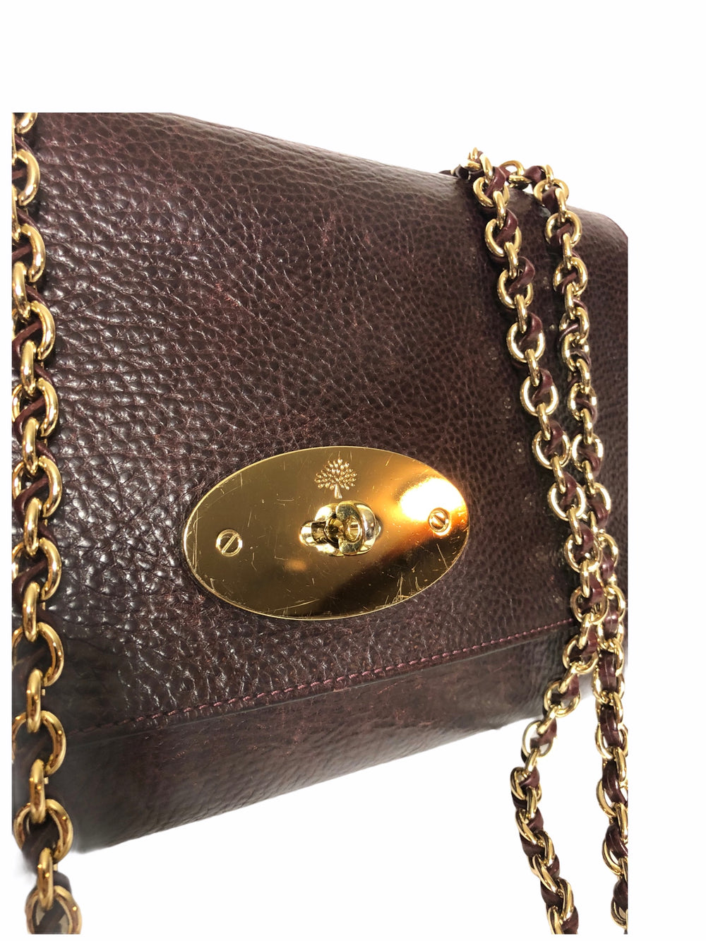 Mulberry Large Burgundy Leather