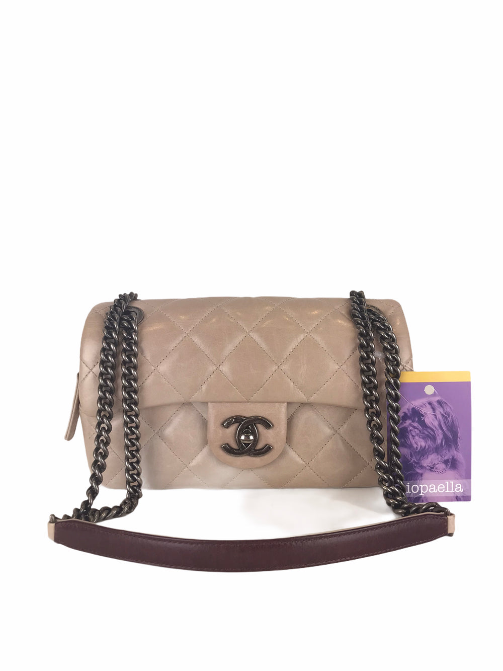 Chanel Cream Crossbody Bag