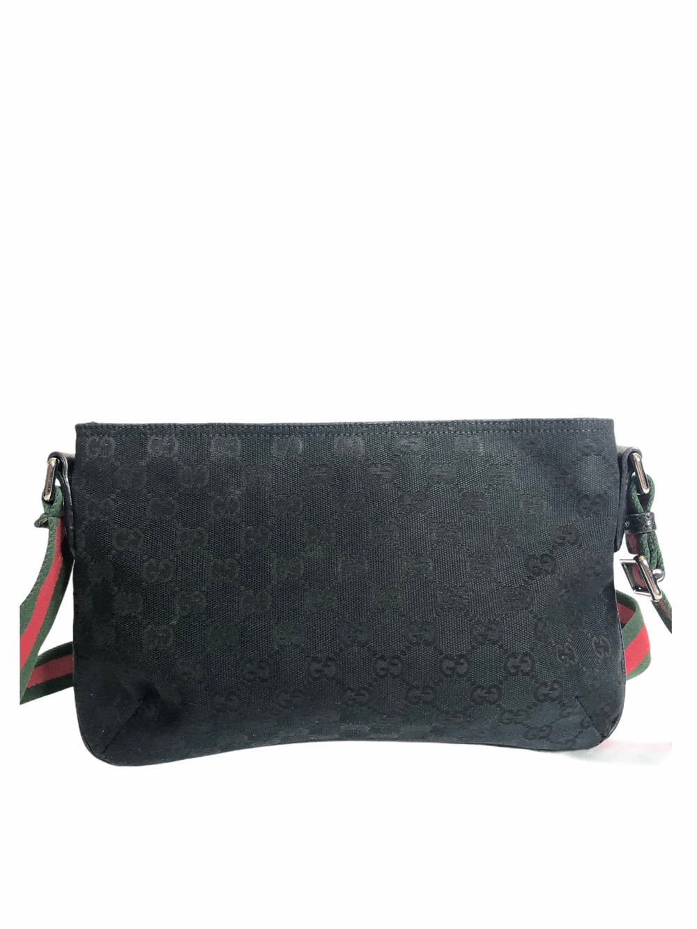 Gucci Black Monogram Canvas Crossbody - As Seen on Instagram 19/11/20