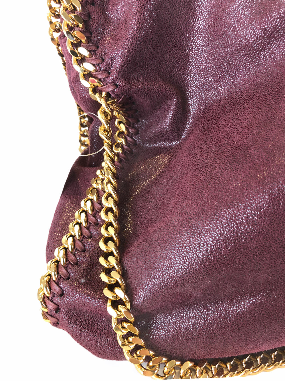 Stella McCartney Burgundy Handbag  - As Seen on Instagram 27/09/2020