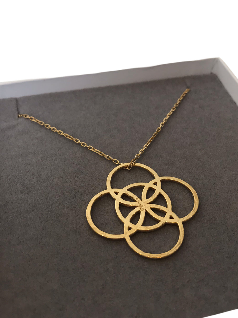 Liwu Jewellery Solid Gold Necklace - As Seen on Instagram