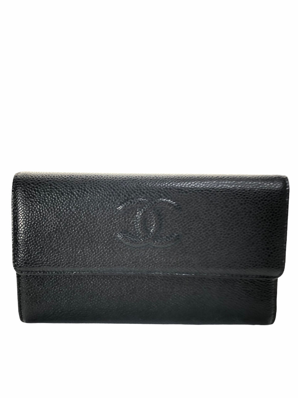 PART PAYMENT ONLY - Chanel Black Caviar Leather Wallet - As Seen on Instagram 4/11/2020