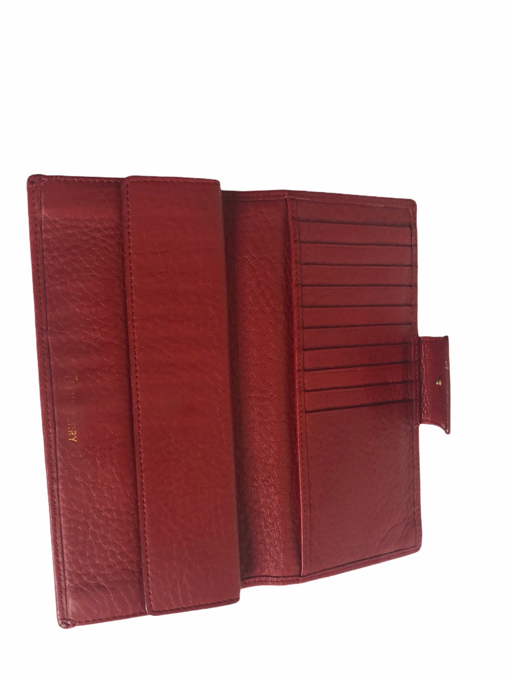 Mulberry Red Leather Bi-Fold Wallet - As Seen on Instagram 29/11/20
