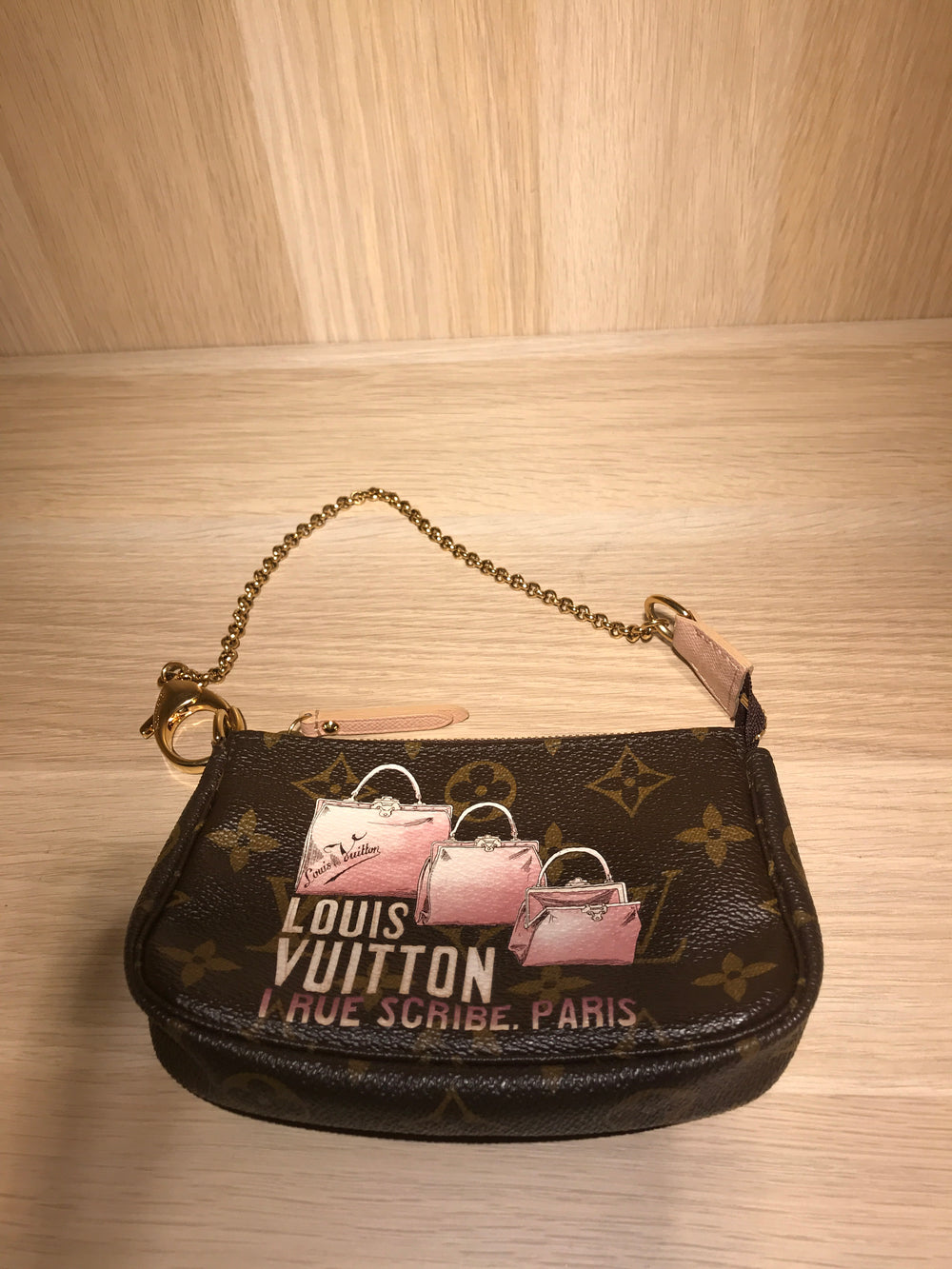 Louis Vuitton Mini Pochette - as seen on Instagram 26.07.2020 - Siopaella Designer Exchange