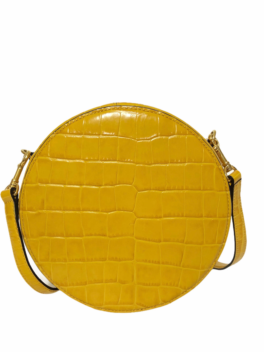 Mulberry Mustard Yellow Leather