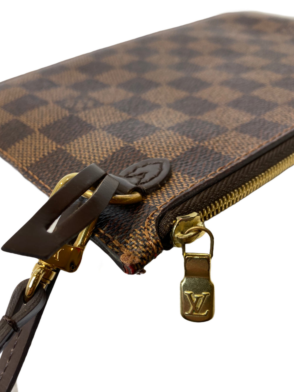 Louis Vuitton Damier Ebene Pochette  - As Seen on Instagram 10/1/21