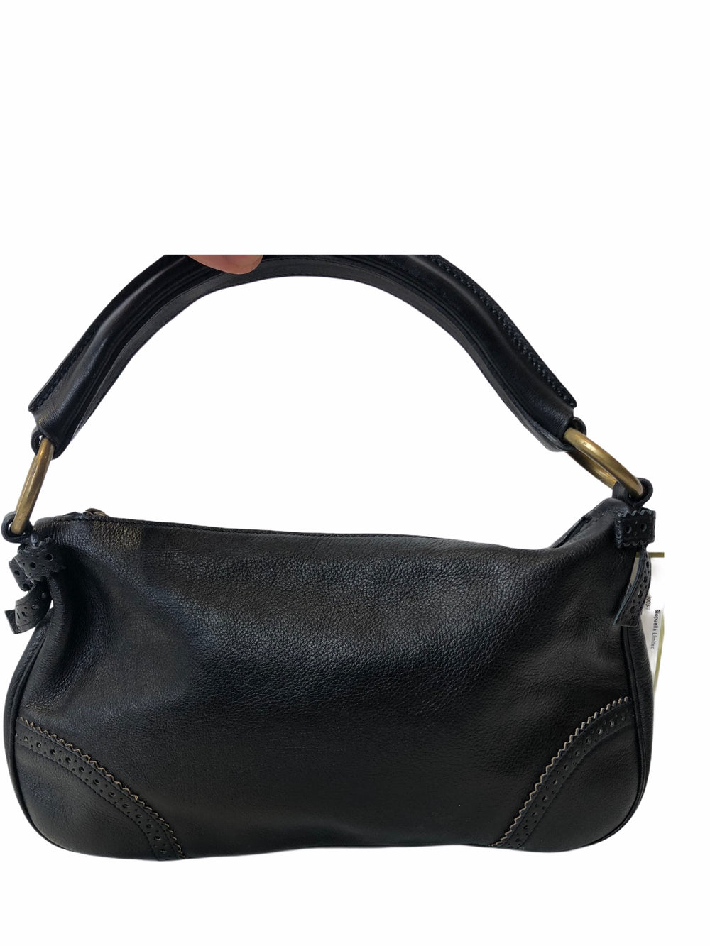 Miu Miu Black Leather Shoulder Bag
