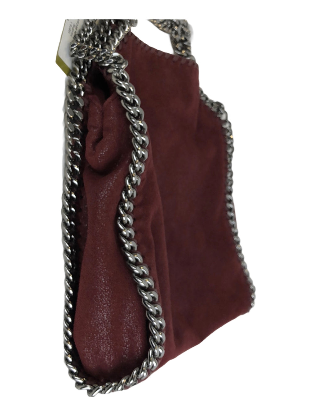 Stella McCartney Burgundy Small Faux Leather Falabella Tote - As Seen on Instagram