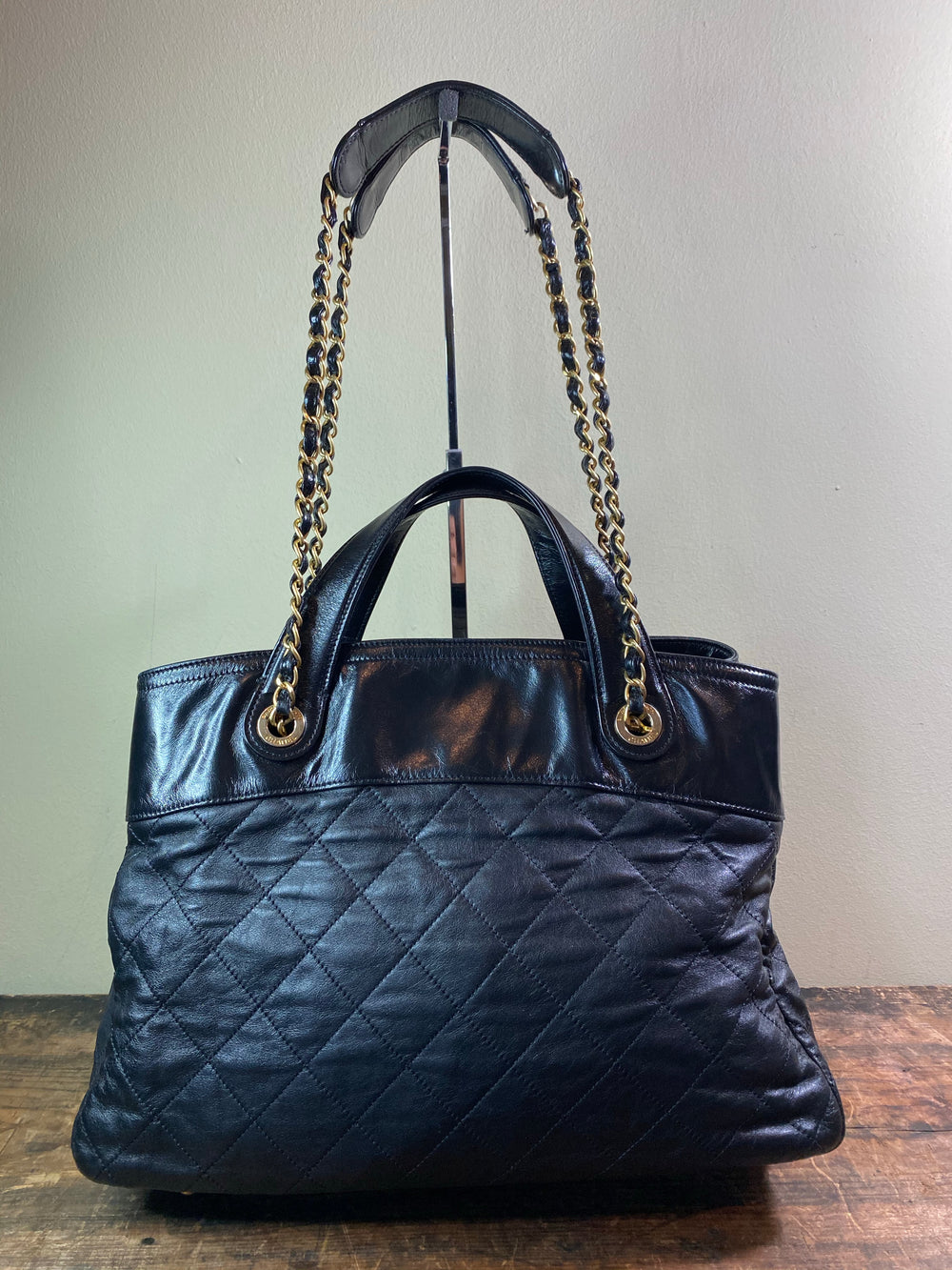 Chanel Two Way Leather