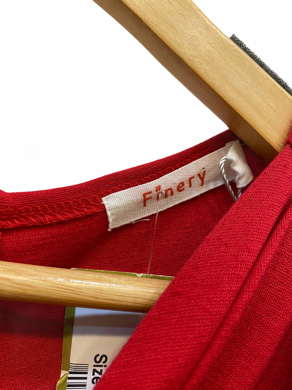 Finery London Red Dress - Size UK 16