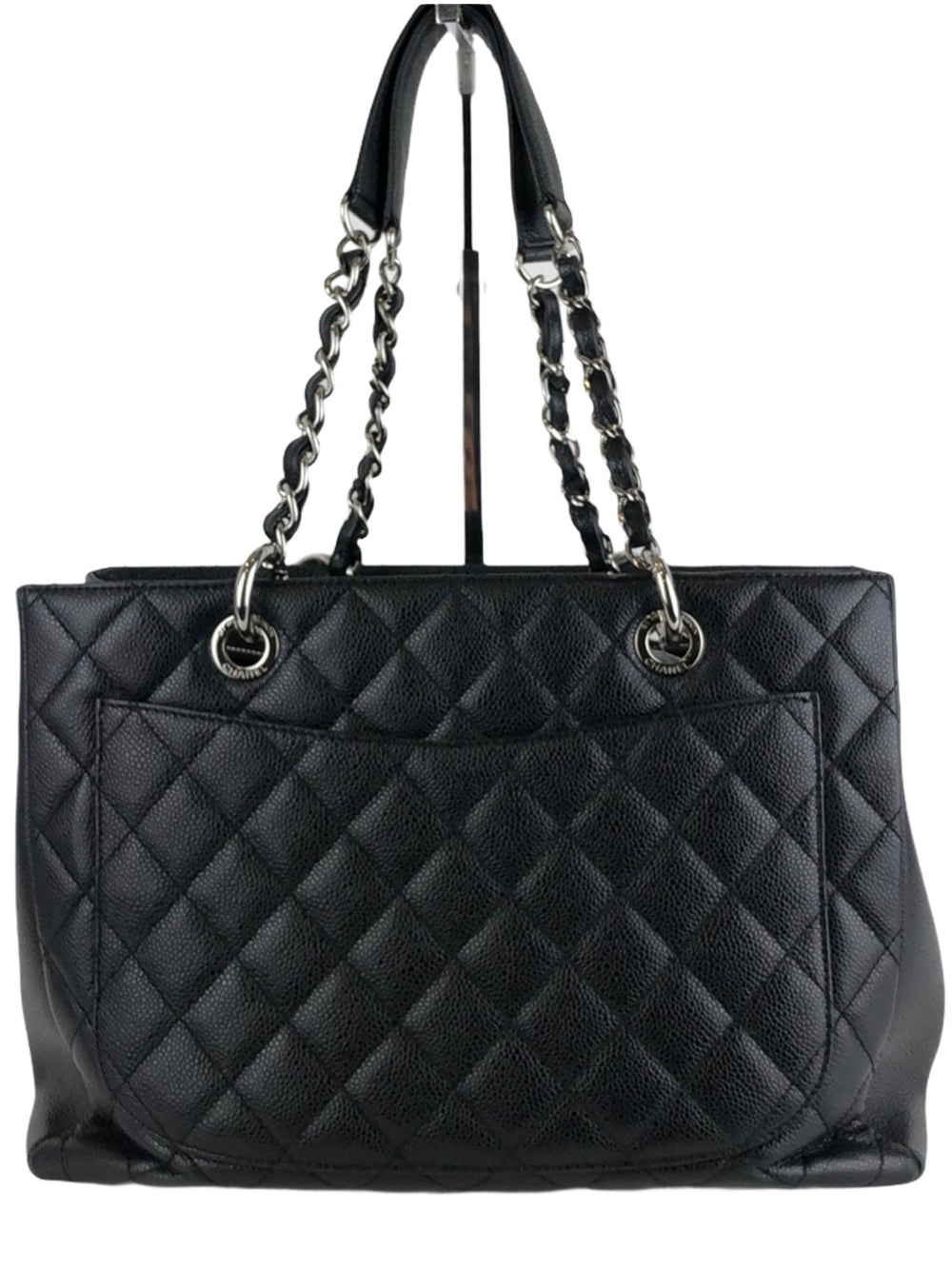Chanel Black Caviar Leather GST (Grand Shopper Tote)