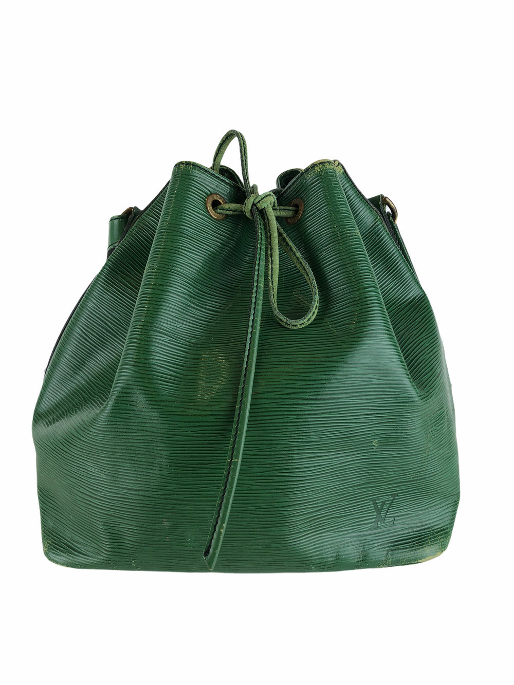 Louis Vuitton Vintage Green Epi Leather Noe Bucket Bag