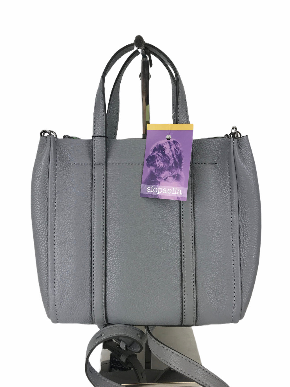 Marc Jacobs Grey Mini Editor Crossbody Tote  -  As Seen on Instagram 16/08/2020