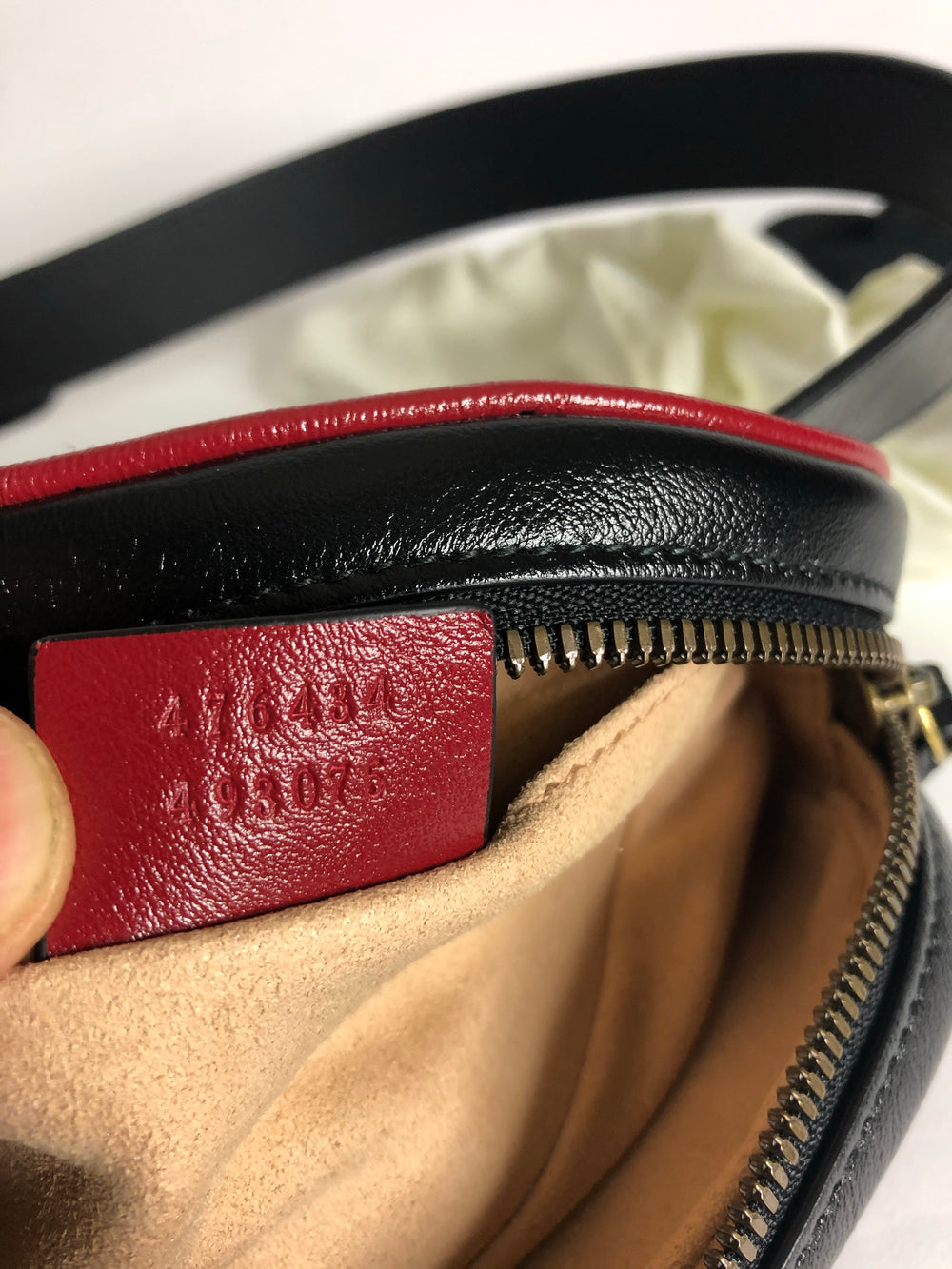 Gucci Black Leather Bumbag