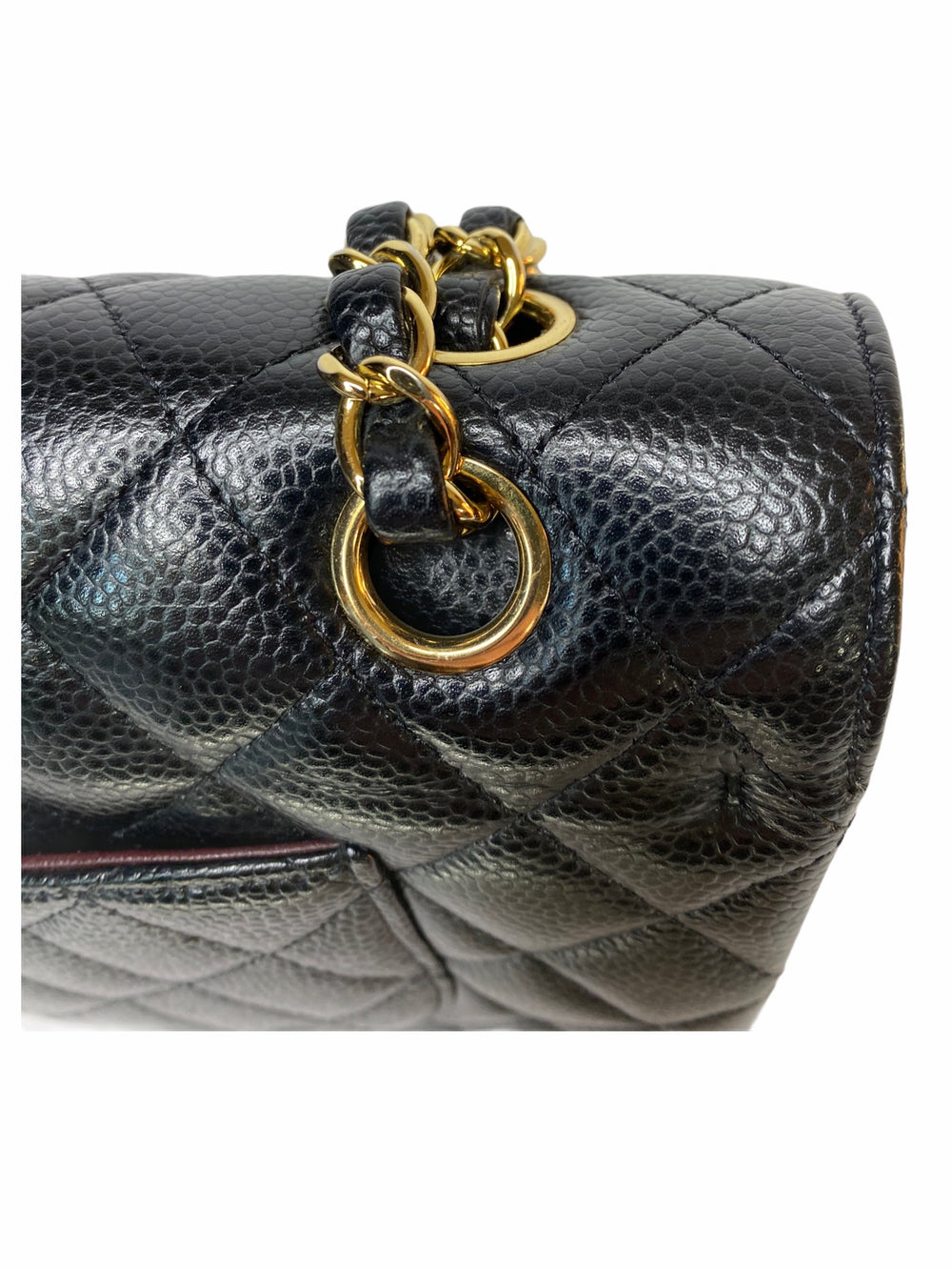 Chanel Classic Caviar Leather Medium Double Flap - As Seen on Instagram 11/10/2020