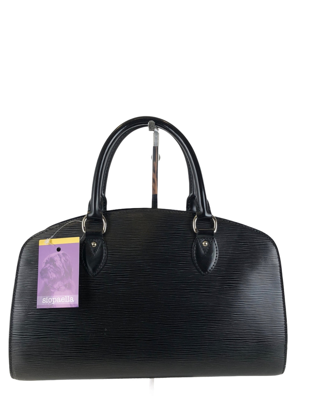 Louis Vuitton Black Epi Leather Tote