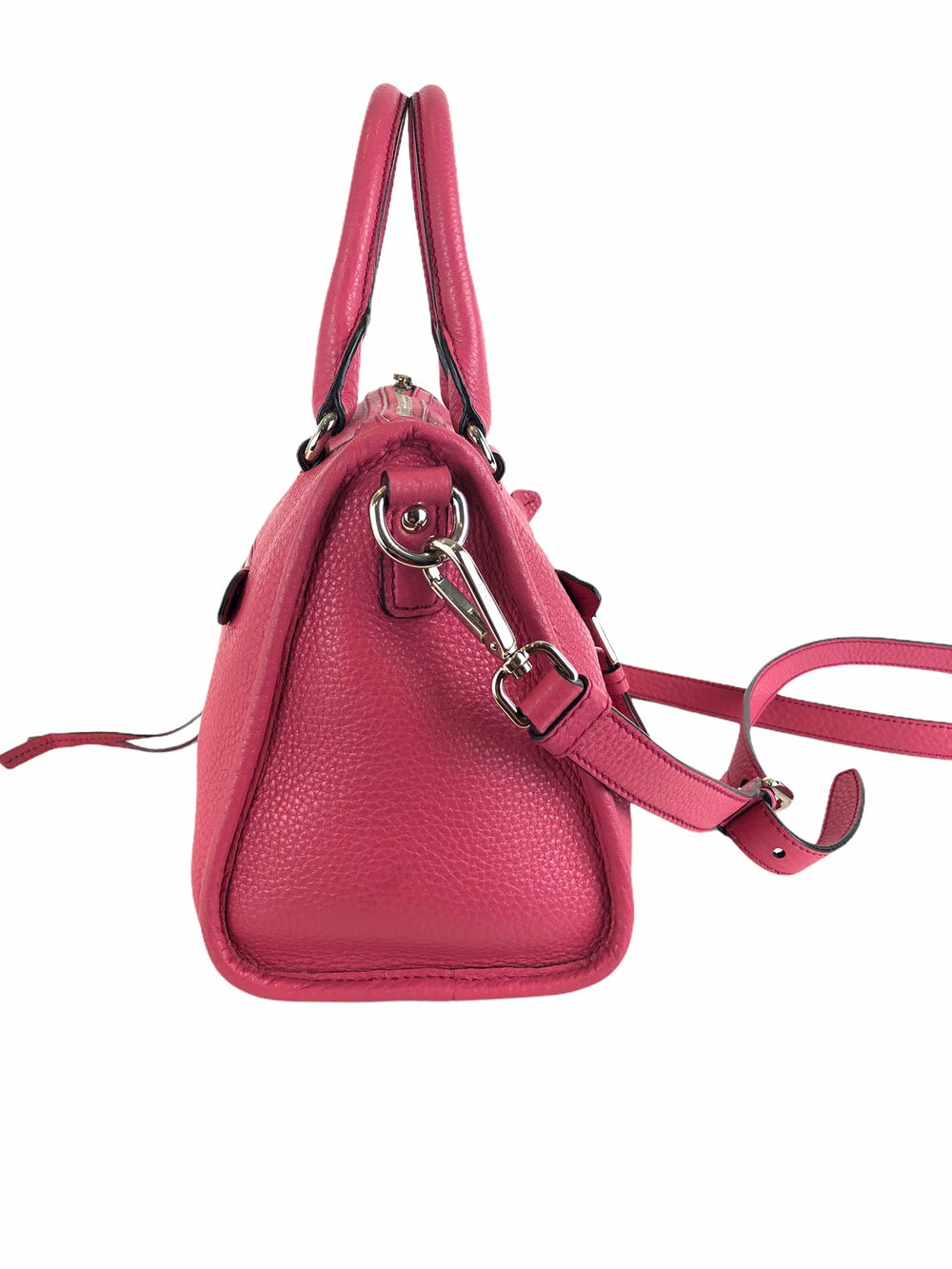 Prada Cerise Leather Tote - As Seen on Instagram