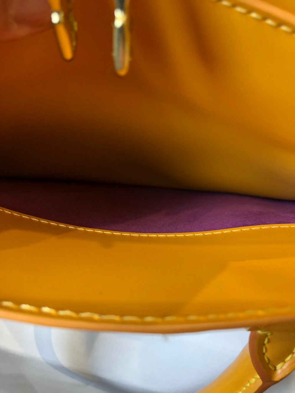 Louis Vuitton Mustard Epi Leather Tote